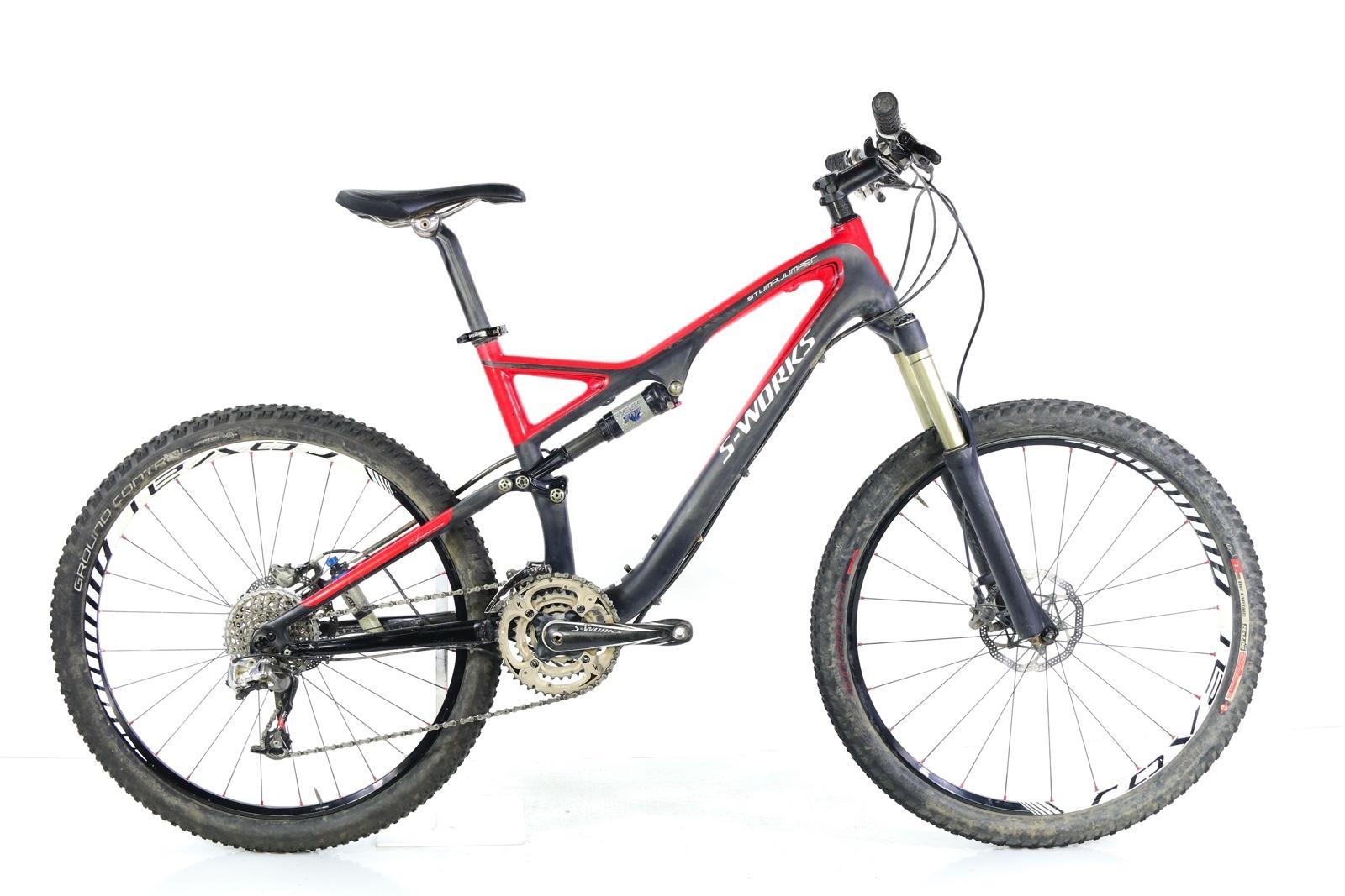 2012 Specialized S-Works Stumpjumper FSR Carbon De listed